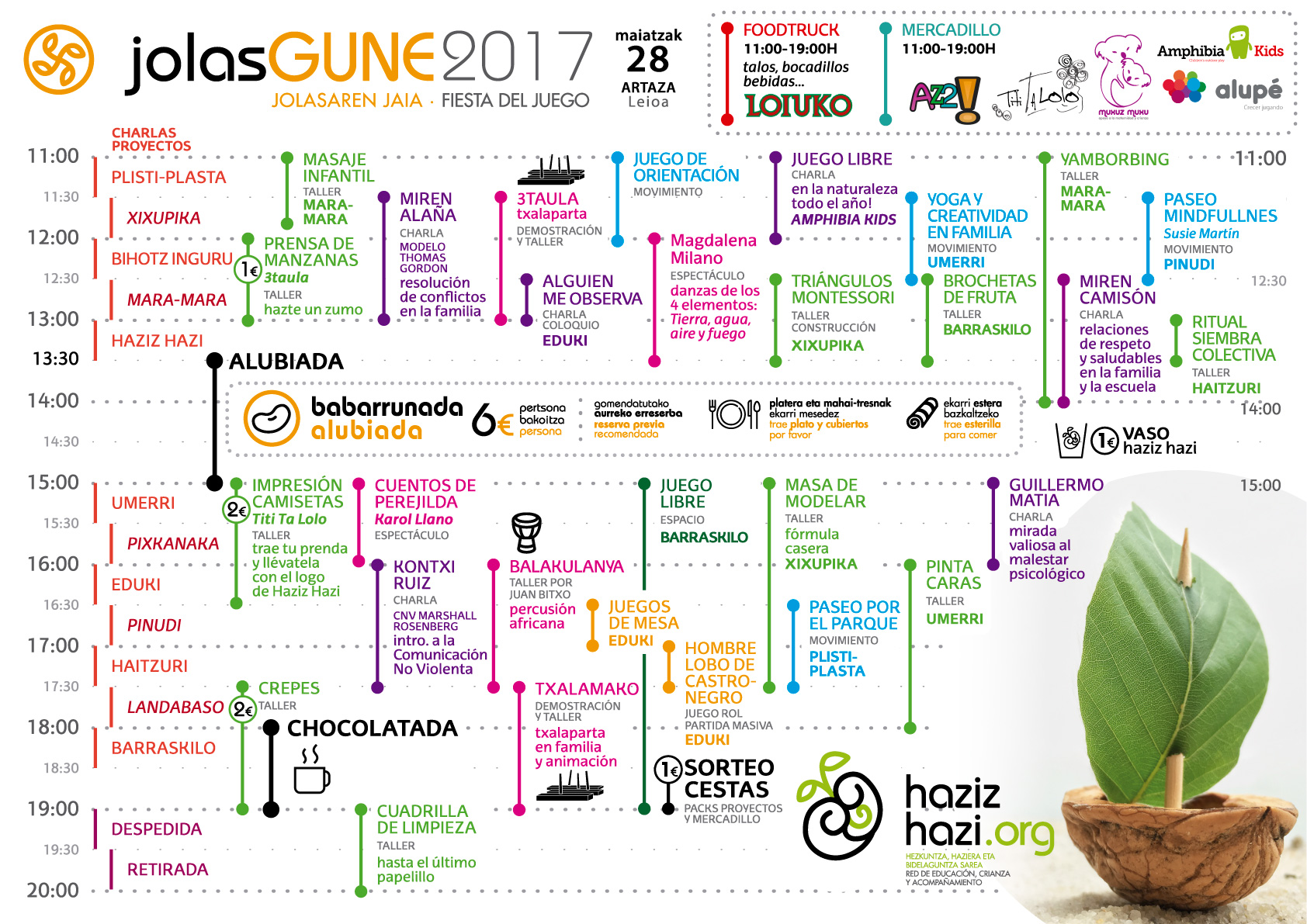 jolasgune 2017 programa castellano hazizhazi